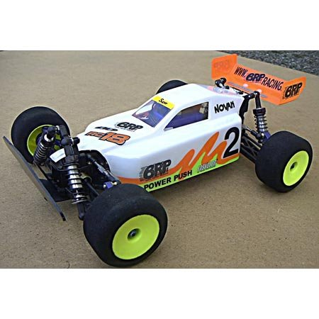 (BRP 631 Da Buggy Body, Clear: RC18T, RC18MT New)