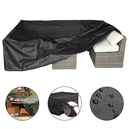 Essort Furniture Covers, Garden Furniture Cover Patio Cover, Waterproof Sofa Set Cover Garden Ou ...
