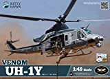 KTH80124 1:48 Kitty Hawk UH-1Y Venom Helicopter [MODEL BUILDING KIT]