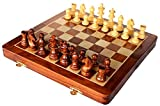 AB hadicrafts 10x10 Inch Premium Quality Chess Set - Magnetic Folding Chess ...