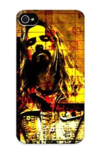 Ellent Design Faceless Rob Zombie Phone Case For Iphone 4/4s Premium Tpu Case For Thanksgiving Day's Gift