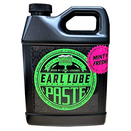 Earl Lube Paste 32oz Bottle - Crystal-Clear Drying, Matte, Artist Paste and Sealer