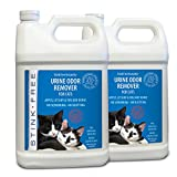 Stink Free Instantly Cat Urine Odor Remover & Eliminator Cleaning Solution, Oxidizer Based Pee Cleaner Solution & Deodorizer for Carpets, Outdoor Rugs, Rugs, Mattress, etc. 2-128 oz Gallons