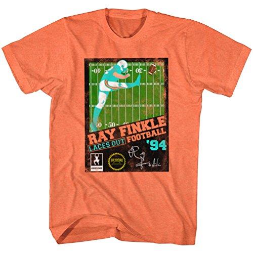 Ace Ventura Ray Finkle Football 94 T-shirt, Orange, XL