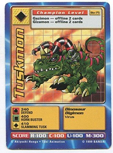 Digimon Card - Tuskmon Bo-75 - Champion Level