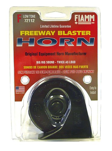 FIAMM 72112 Freeway Blaster LOW Note Horn