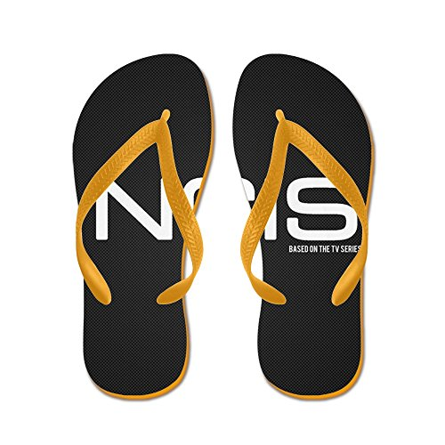 Cafepress Ncis Tv Show - Flip Flops, Grappige String Sandalen, Strand Sandalen Oranje