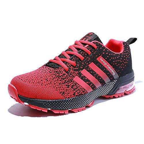 Air Mode Marche Course Fushiton De Cushion Rouge Tennis Femmes Jogging Chaussures Hommes Baskets wBfIfvaq