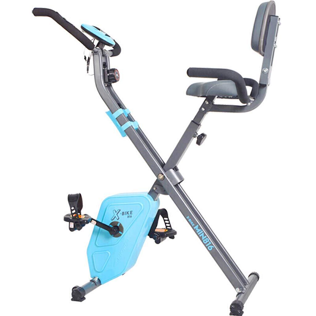 DS Fitnessgeräte Folding Home Mute Magnetische Heimtrainer Indoor Spinning Bike Heimtrainer Fitnessgeräte &&