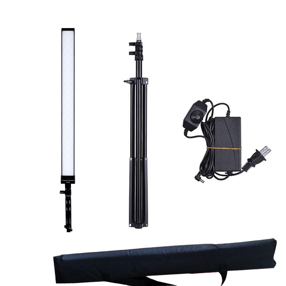 36w Dimmable LED Video Handheld Lights Photography Studio Continuous Output Lighting Kit with Tripod Stand for Camera Photo Studio Shooting,YouTube, Capture-1 Pack