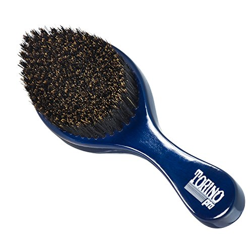 Torino Pro Wave Brush #610 By Brush King - Medium Curve 360 Waves Brush - Hardest Medium Curve for All Stages of Waving (360 Waves (Curve Brush)