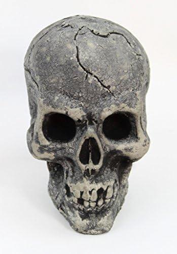 Fleur de Lis Garden Ornaments LLC Skull Statue