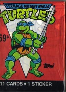 Amazon.com: 1990 Topps Muntant Ninja Turtles Trading Card ...