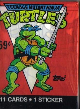 Teenage mutant ninja turtles trading cards stickers