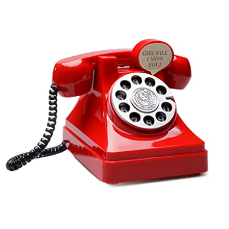 DAIFUQIANG Teléfono Dinero Teléfono Caja De Monedas ...