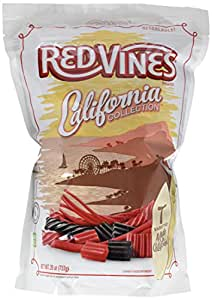 Red Vines California Collection Black and Red Licorice 26oz Bag