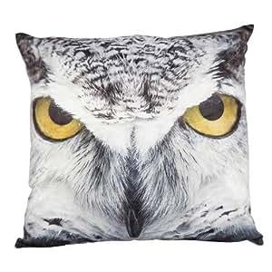 Interior cojín 45cm x 45cm Owl–Cojín Almohada Easy-PhotoPrint
