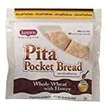 Kangaroo Pita Pocket, Precut Wheat, 12 Ounce (Pack of 12)