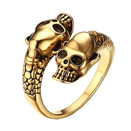 Gold Biker Ring Amazon