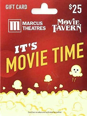 Amazon.com: Tarjeta de regalo Marcus Theatres: Tarjetas de ...