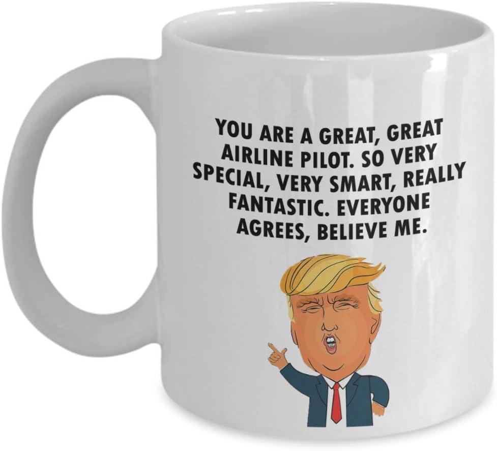 HELICOPTER PILOT Gift Funny Trump Mug Great Birthday Christmas Jobs