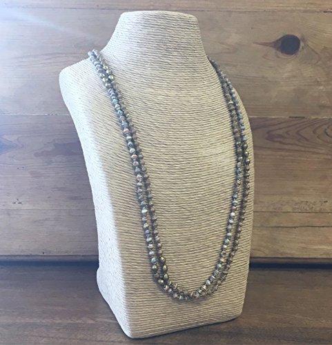 Paper Bead East African Necklace - Earthtone - Fair Trade BeadforLife Jewelry ()