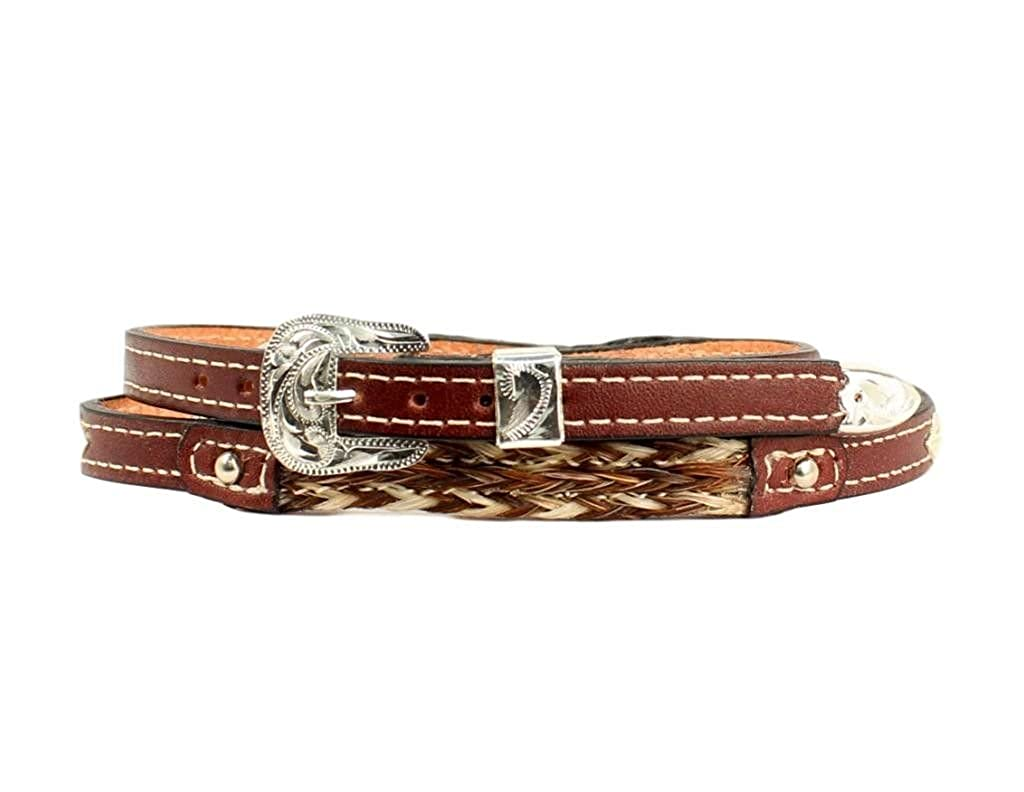 Twister Western Hat Band Adult Braided Horse Hair 3//8 Brown 0200302