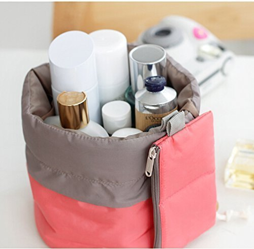 Travel Makeup Bag made our list of DIY Glam Camping Ideas And Tips And Cute Glamping Accessories For Do It Yourself RV And Tent Glamping, Glamping Gifts, Fun Gear And Gifts For Glampers, Awesome Decor, Furniture, Lights, Decorations, Camping Hacks And Products To Add To Your DIY Glamping Kit