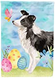 Cheap Caroline's Treasures BB9618GF Border Collie Easter Decorative Garden Flag, Multicolor