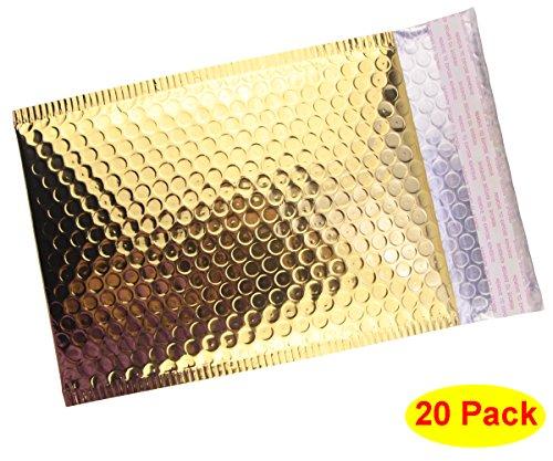 HOSL Metallic Padded Bubble Mailers product image