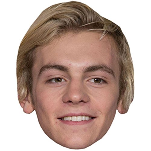 Ross Lynch Celebrity Mask, Card Face and Fancy Dress Mask - Ross Lynch Costume