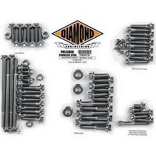 ダイヤモンドエンジニアリング ボルトキット エンジン回り 04年以降 XL OEMスタイル 2401-0267 DE8510P   B01M1NES25