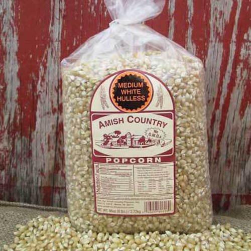 popcorn amish white - 7