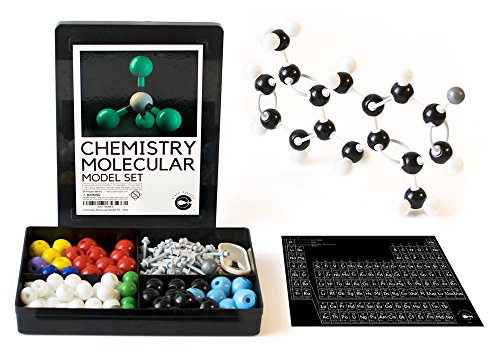 - Chemistry Molecular Model Set and Periodic Table of Elements Sticker
