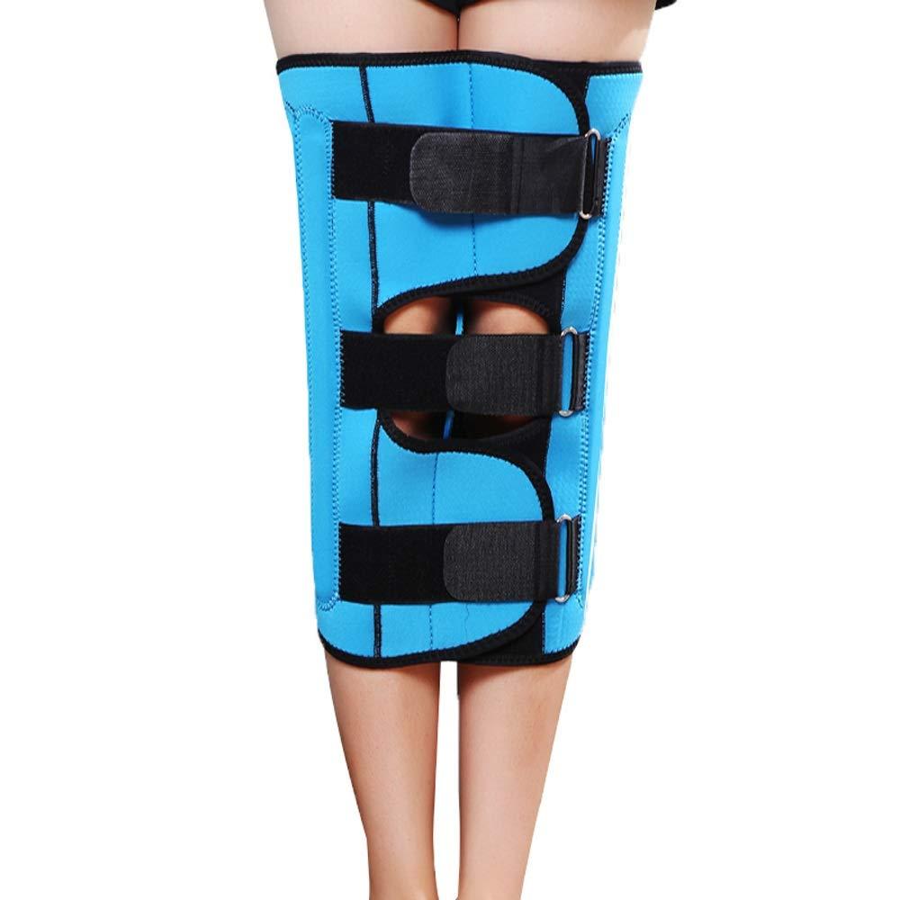 Leg Straightener Straps To Correct O/X Type Leg Correction Belt Band Beauty Leg Straighten Tape Bandage Adjustable Double Belt Strap Fixing (Color : Blue, Size : S)