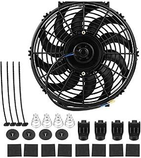 Ventilador de 12 pulgadas, universal 12 V 80 W Delgado Electric ...