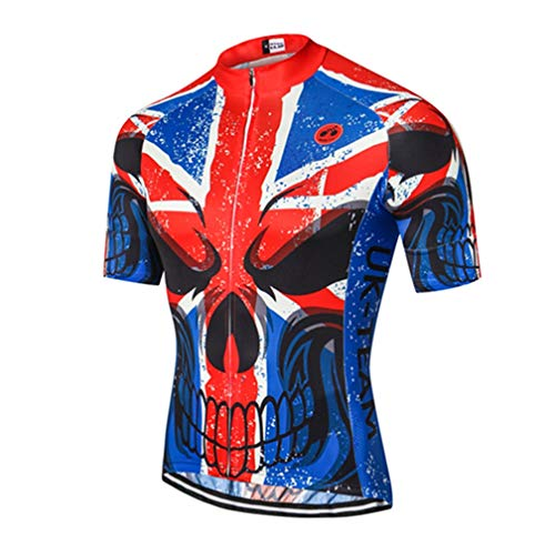 Mens Cycling Jersey Shirt,2020 Short Sleeve Bike Jersey Riding Tops Outdoor MTB Cycling Clothing