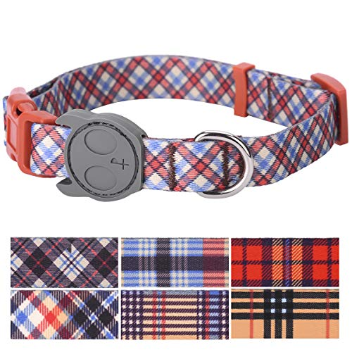 Aberdeen Tartan - PetANTastic Best Adjustable Large Dog Collar Durable Soft & Heavy Duty with Classic Tartan Plaid Design, Outdoor & Indoor use Comfort Dog Collar for Girls, Boys, Puppy, Adults