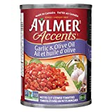 Aylmer Accents Petit Cut Garlic and Olive Oil (Pack of 12)