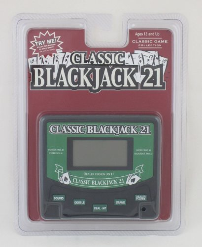 Classic Blackjack 21 Electronic Handheld Game Electronic Games