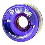 quad atom - Atom Pulse Purple Outdoor Quad Roller Skate Wheels