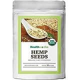 Healthworks Hemp Seeds Shelled Raw Organic, 1lb