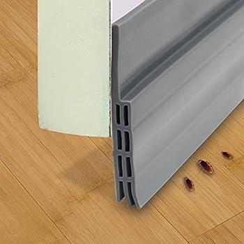 ZATAYE Self Adhesive Door Bottom Seal   Weather Stripping, Silicone Door  Bottom Seal Strip