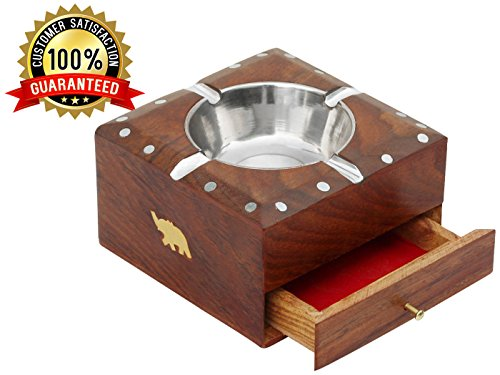 Best-Wood-Ashtray-with-Drawer-for-Smoking-Tools-Cigarettes-Ashtray-with-4-Cigarette-Holder-Slots-Square-Wood-Ash-Tray-Perfect-Gifts-for-Smokers