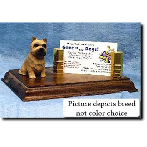 Cairn Terrier Business Card Holder (Cairn Terrier (Black and Brindle) Business Card Holder)