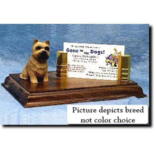 Michael Park Cairn Terrier (Wheaten) Business Card Holder ()