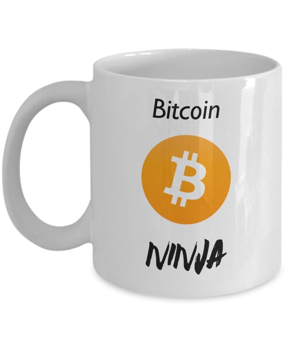 Amazon.com: Bitcoin Ninja Mug - BTC Coffee Mug - Funny ...
