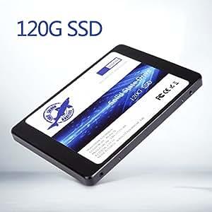 Dogfish SSD 120GB SATA3 SataIII 2.5 Inch Internal Solid State Drive 7MM Height MLC PC Laptop Hard Drive (120GB)