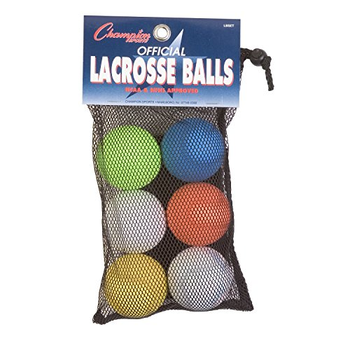 Champion Dog Target (Champion Sports Colored Lacrosse Balls: Official Size for Professional, College & Grade School Games - NCAA, NFHS, Certified (12, Assorted))