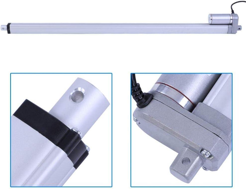 200mm 12V Linear Actuator Force 1500N Stroke 200mm//350mm//400mm//450mm//700mm//750mm Linear Actuator Lift Electric Motor Bracket Linear Actuator Motor for Automotive//Medical Devices
